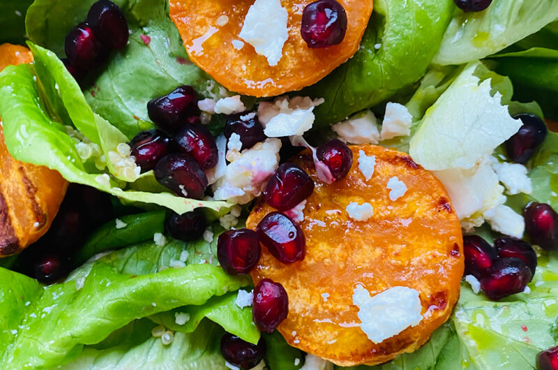 Zelena salata sa batatom i narom