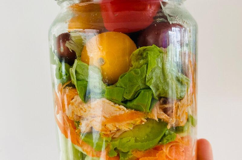 Losos salata u tegli