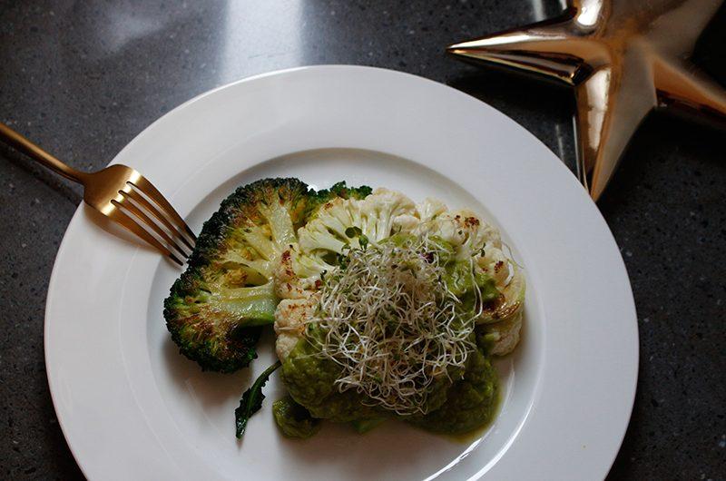 Light green dinner