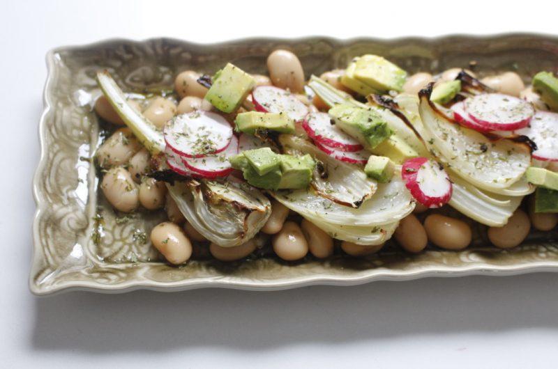 Salata od pasulja i komorača
